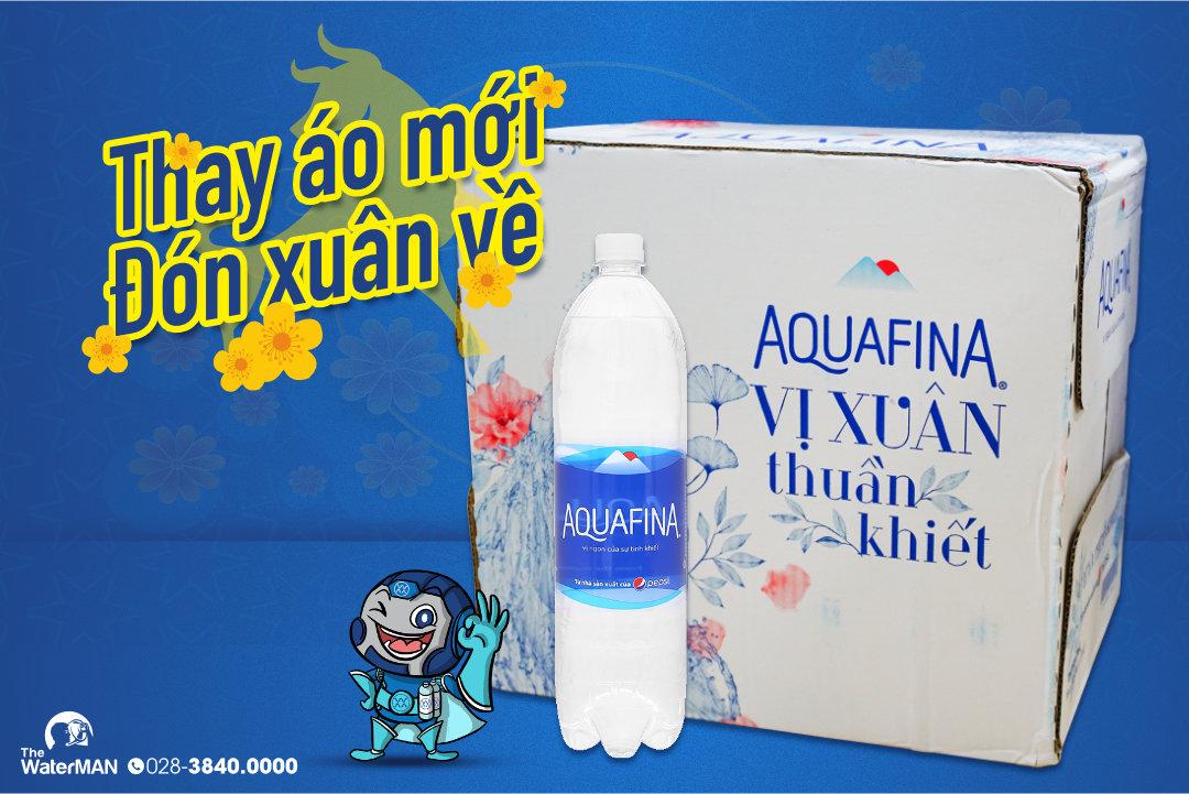 Nhãn hiệu mới của nước tinh khiết Aquafina