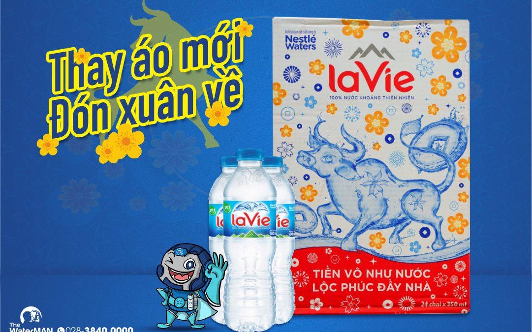 Nhãn hiệu nước của nước Lavie