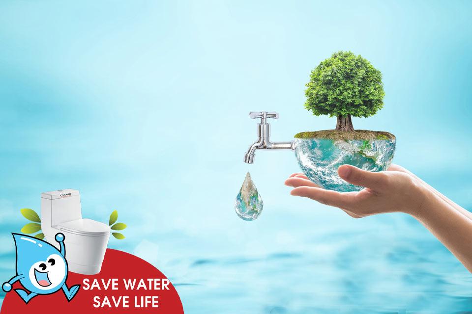 70% bề mặt trái đất nước nước nhưng chỉ có 3% là nước ngọt mà con người có thể sinh hoạt