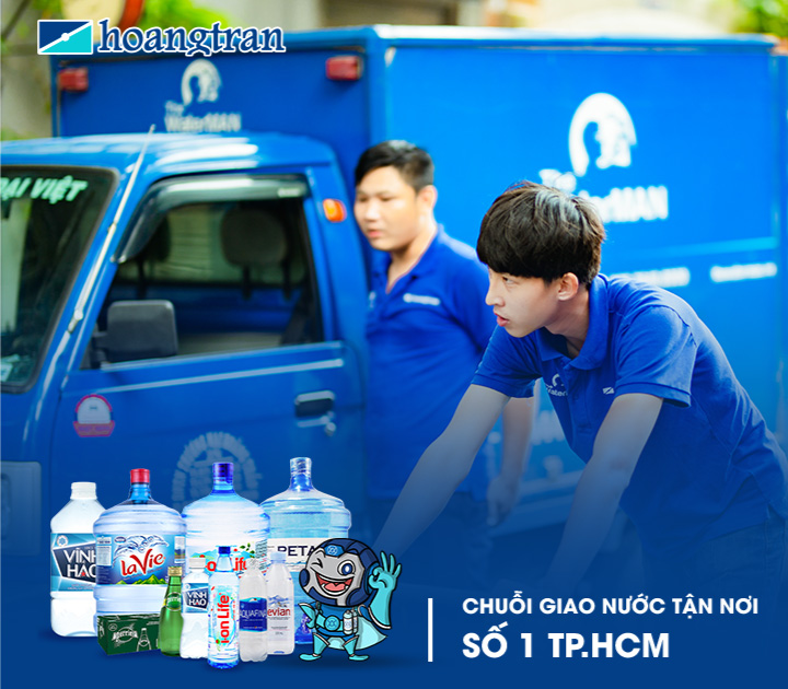 The Water MAN là chuỗi giao nước số 1 TP HCM với nhiều thương hiệu, sản phẩm chính hãng, giao hàng miễn phí, hóa đơn rõ ràng