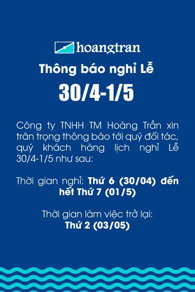 Chi tiết thông báo lịch nghỉ lễ của Hoàng Trần