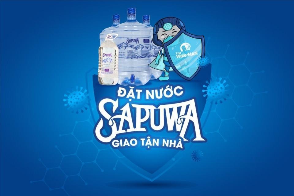 Hoàng Trần hỗ trợ giao nước sapuwa toàn TP HCM mùa dịch